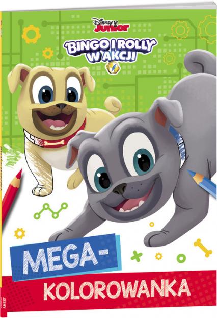 Bingo i Rolly w akcji Megakolorowanka KOL-4 -  | okładka