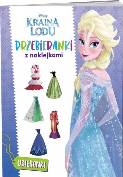 Kraina Lodu Przebieranki z naklejkami TRA-4 -  | okładka
