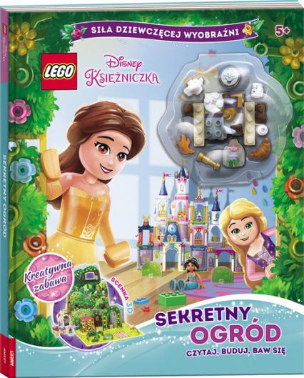 Lego Disney Księżniczka Sekretny Ogród Czytaj, Buduj, Baw Się LMB-6101 -  | okładka