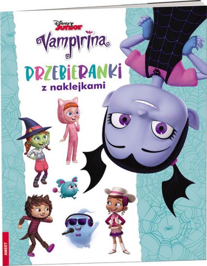Vampirina Przebieranki z naklejkami TRA-3 -  | okładka