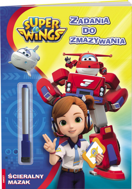 Super Wings Zadania do zmazywania PTC-301 -  | okładka