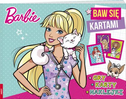 Barbie Baw się kartami -  | okładka