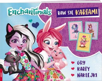 Enchantimals Baw się kartami -  | okładka