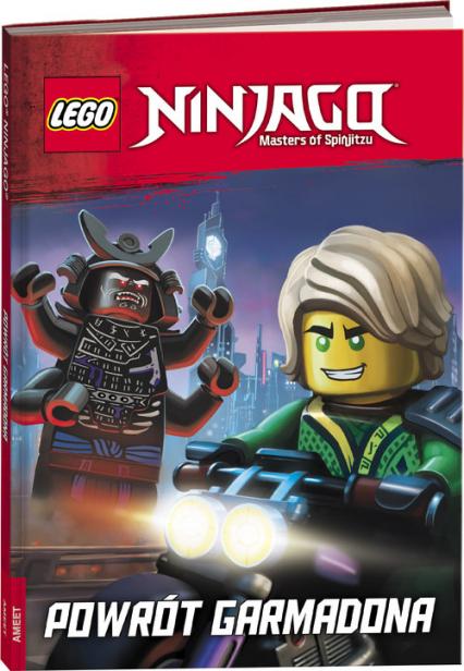 Lego Ninjago Powrót Garmadona -  | okładka
