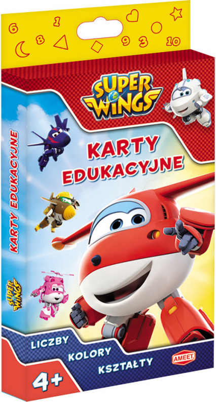 Super Wings karty edukacyjne PCK-301 -  | okładka