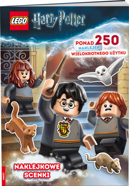 Lego Harry Potter. Naklejkowe scenki SSP-6401 -  | okładka