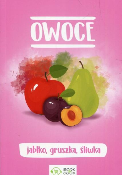 Owoce jabłko gruszka śliwka -  | okładka