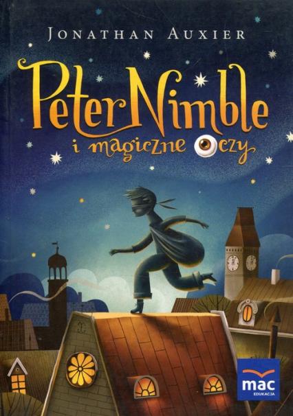 Peter Nimble i magiczne oczy - Jonathan Auxier | okładka