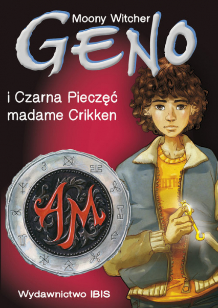 Geno i Czarna Pieczęć madame Crikken Tom 1 - Moony Witcher | okładka