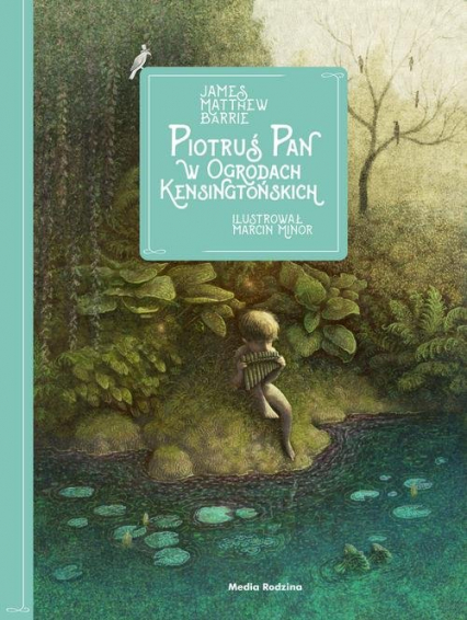 Piotruś Pan w Ogrodach Kensingtońskich - Barrie James Matthew | okładka