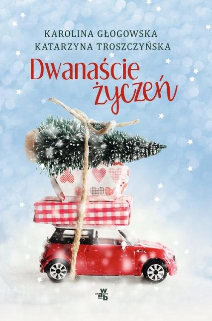 Dwanaście życzeń - Głogowska Karolina, Troszczyńska Katarzyna   okładka