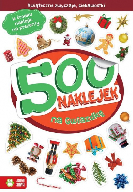 500 naklejek na Gwiazdkę - Barbara Supeł | okładka