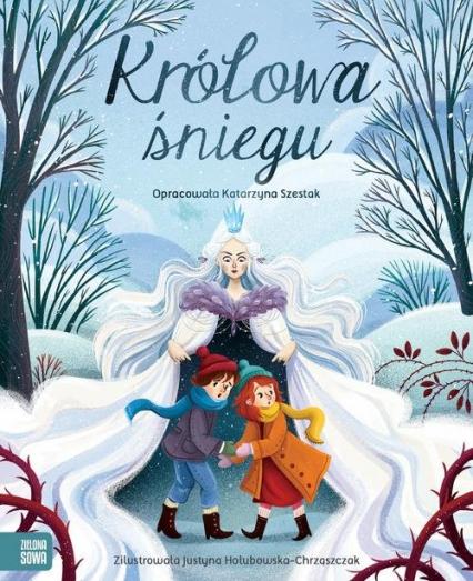 Królowa śniegu - Katarzyna Szestak | okładka