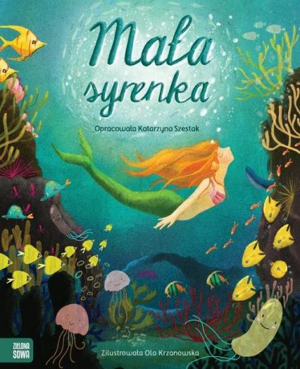 Mała syrenka - Katarzyna Szestak   okładka