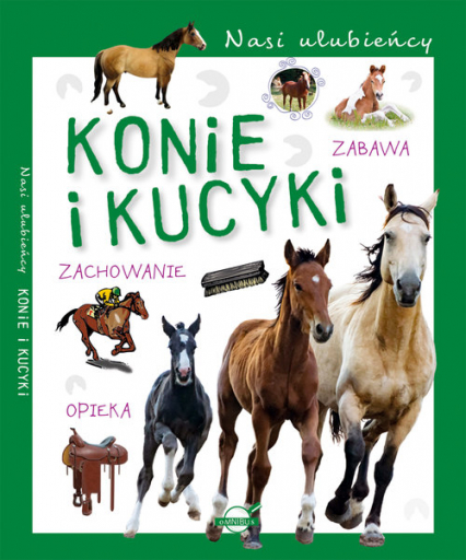 Nasi ulubieńcy Konie i kucyki -  | okładka