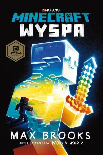 Minecraft Wyspa - Max Brooks | okładka
