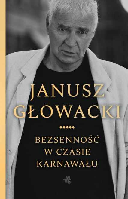 Bezsenność w czasie karnawału - Janusz Głowacki | okładka