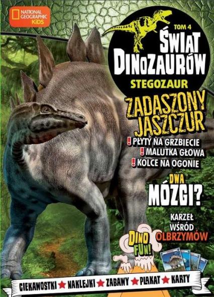 Świat Dinozaurów 4 Stegozaur -  | okładka