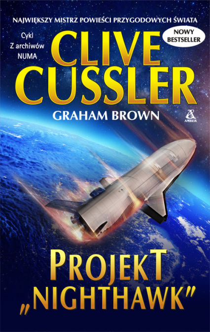 "Projekt ""Nighthawk"" - Clive Cussler | okładka"