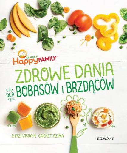 Zdrowe dania dla bobasów i brzdąców - Visram Shazi, Azima Cricket | okładka