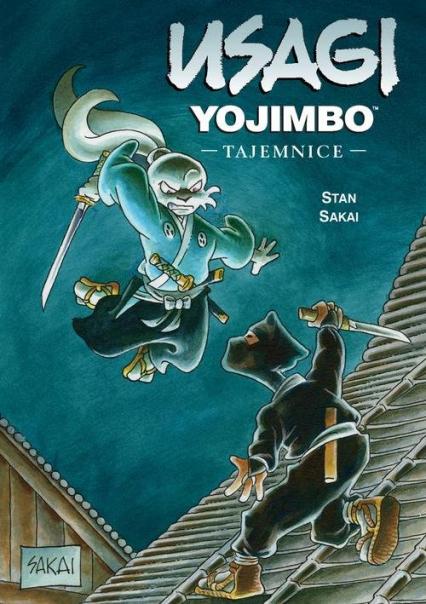 Usagi Yojimbo 27 Tajemnice - Stan Sakai | okładka