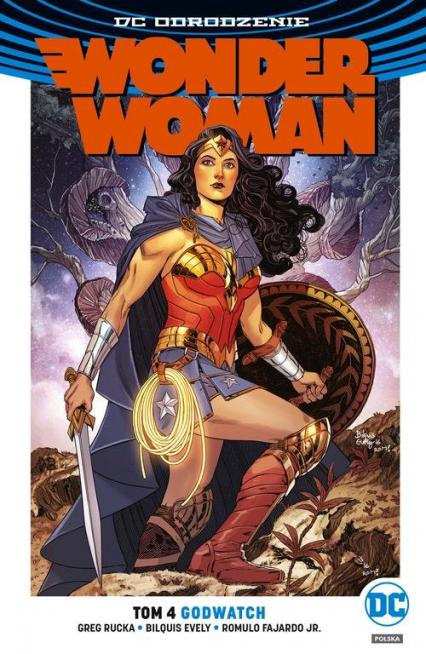 Wonder Woman Tom 4 Godwatch - Greg Rucka | okładka