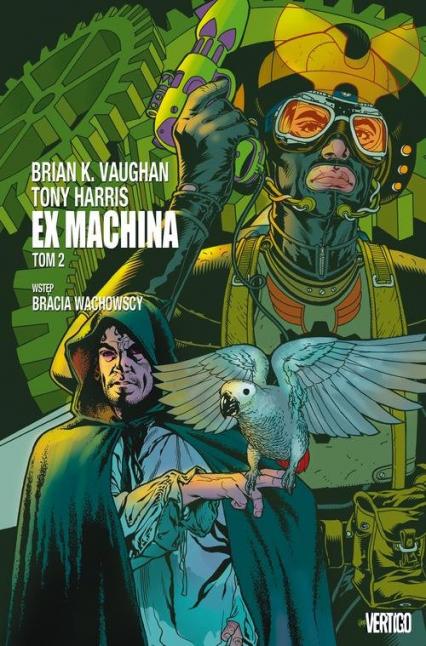 Ex Machina Tom 2 - Vaughan Brian K. | okładka