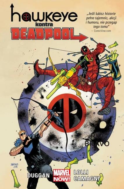 Hawkeye kontra Deadpool - Gerry Druggan | okładka