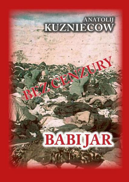 Babi Jar - Anatolij Kuzniecow | okładka