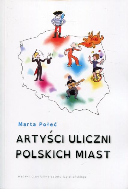 Artyści uliczni polskich miast - Marta Połeć | okładka