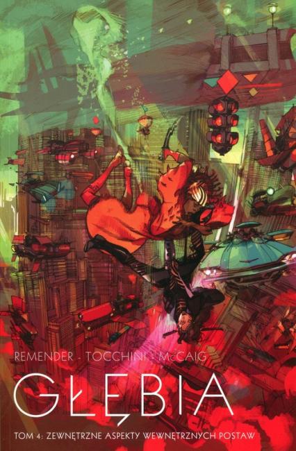 Głębia Tom 4 Zewnętrzne aspekty wewnętrznych postaw - Rick Remender | okładka
