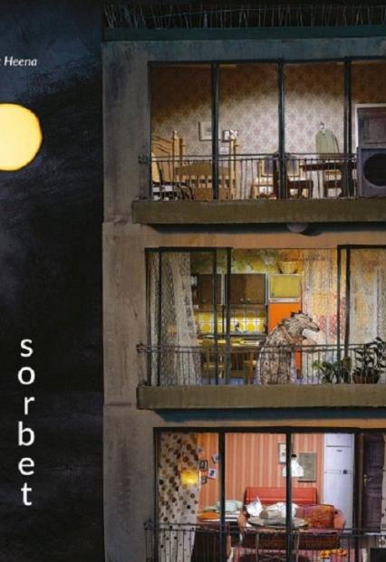 Księżycowy sorbet - Baek Heena | okładka