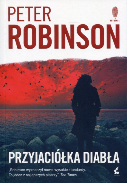 Przyjaciółka diabła - Peter Robinson | okładka