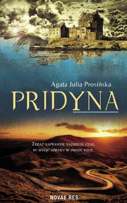 Pridyna Tom 3 Duchy Żywiołów - Prosińska Agata Julia | okładka