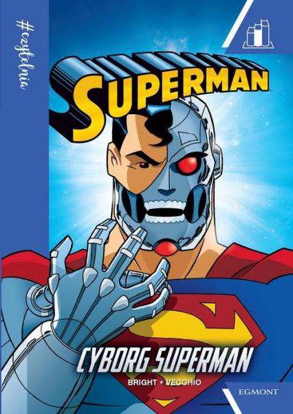 Cyborg Superman #Czytelnia - J.E. Bright | okładka