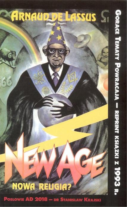 New Age Nowa religia? - De Lassus Arnaud | okładka