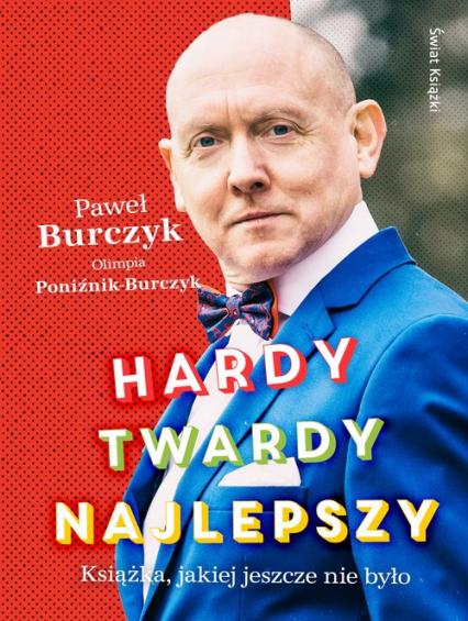 Hardy twardy najlepszy - Burczyk Paweł, Poniźnik-Burczyk Olimpia   okładka