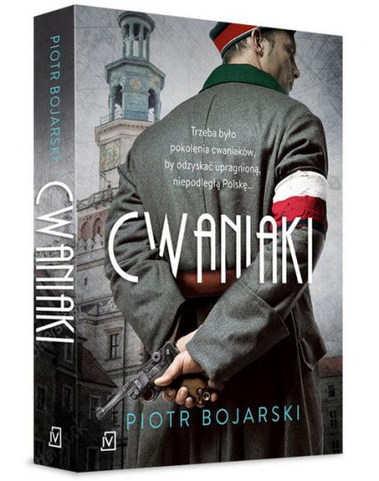 Cwaniaki - Piotr Bojarski | okładka