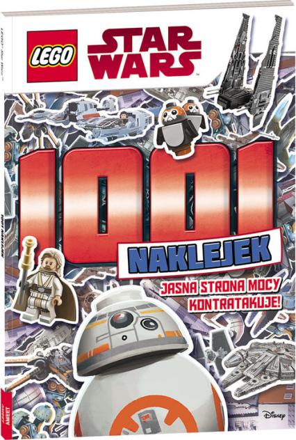 Lego Star Wars 1001 naklejek Jasna strona mocy kontratakuje! -  | okładka