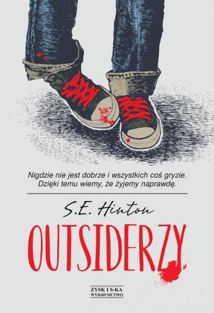 Outsiderzy - Hinton Susan Eloise   okładka