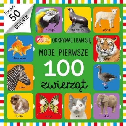 Moje pierwsze 100 zwierząt -  | okładka