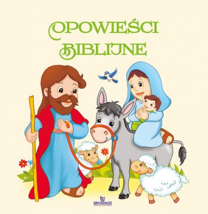 Opowieści biblijne - Beata Jędrzyńska | okładka