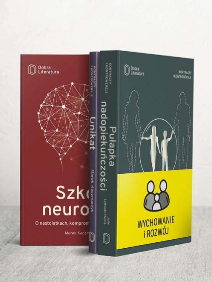 Pułapka nadopiekuńczośc / Szkoła neuronów / Unikat Pakiet - Lythcott-Haims Julie, Kaczmarzyk Marek | okładka