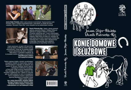 Konie domowe i służbowe /czarno-białe/ - Stojer-Polańska Joanna, Piniewska-Róg Danuta   okładka