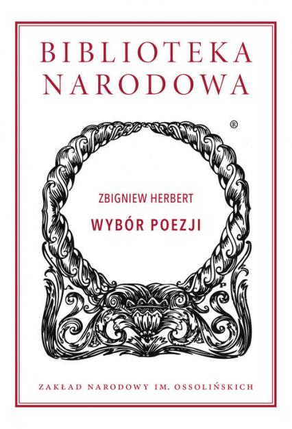 Wybór poezji - Zbigniew Herbert | okładka