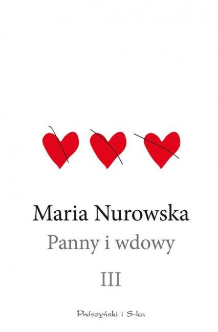 Panny i wdowy Tom 3 - Maria Nurowska | okładka