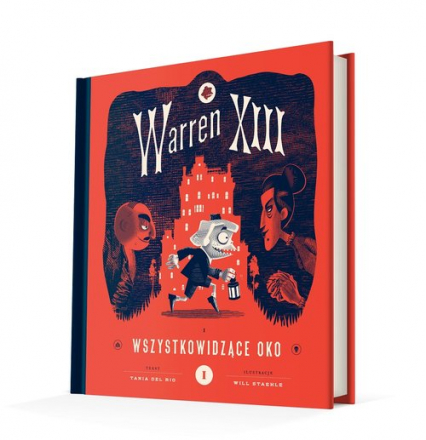 Warren XIII i Wszystkowidzące oko - del Rio Tania | okładka