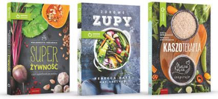 Przepisy na zdrowie Zdrowe zupy / Kaszoterapia / Super Żywność Pakiet -  | okładka