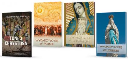 Sanktuaria Maryjne Wydarzyło się...w Fatimie /Częstochowie /Guadalupe /Tuniki Chrystusa  Pakiet promocyjny + gratis - Legutko Beata, Chaberka Sylwia | okładka