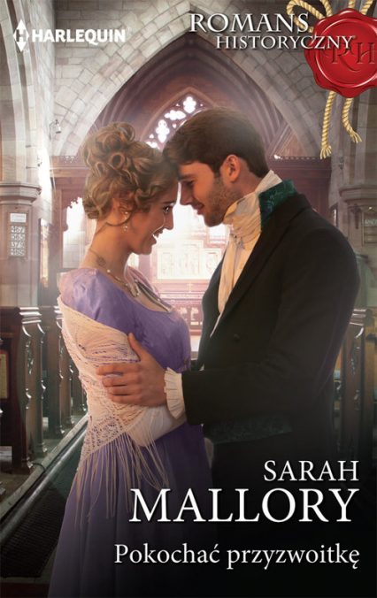 Pokochać przyzwoitkę - Sarah Mallory | okładka